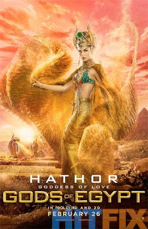 Gods of Egypt - Elodie Yung as Hathor