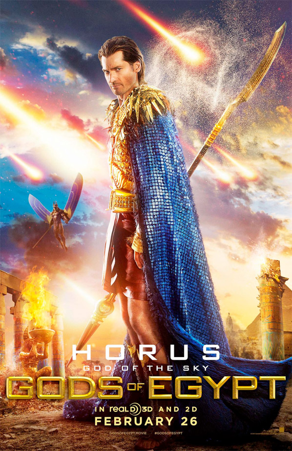 Gods of Egypt - Nikolaj Coster-Waldau as Horus