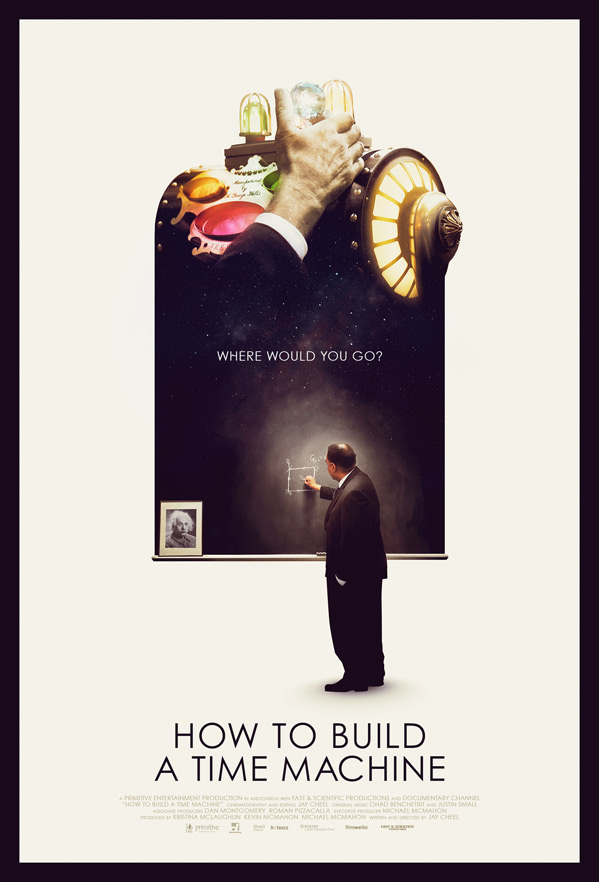 How to Build a Time Machine Poster