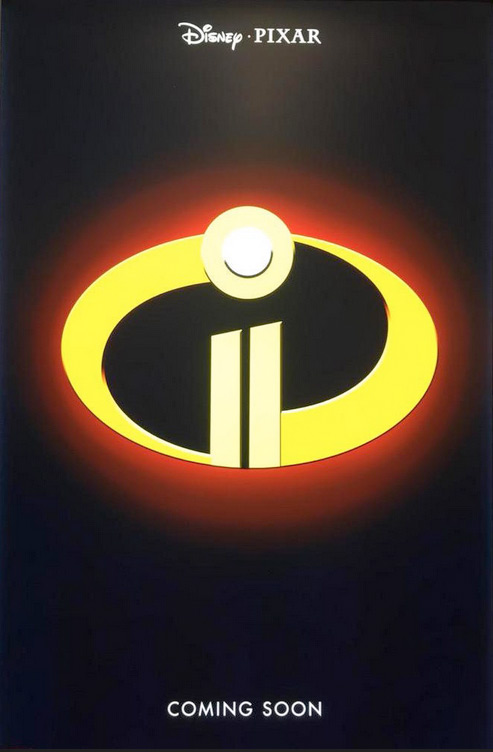 Pixar Posters - The Incredibles 2