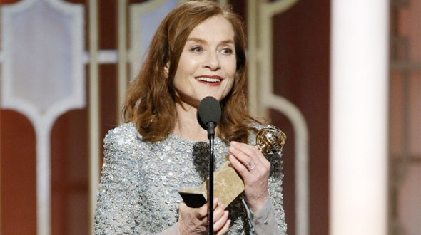 Isabelle Huppert - Golden Globe Winner