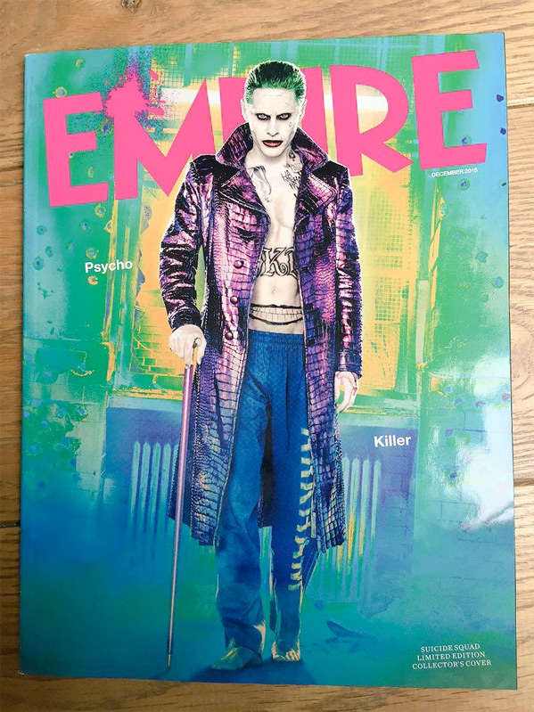 Empire - Joker Suicide Squad Cover
