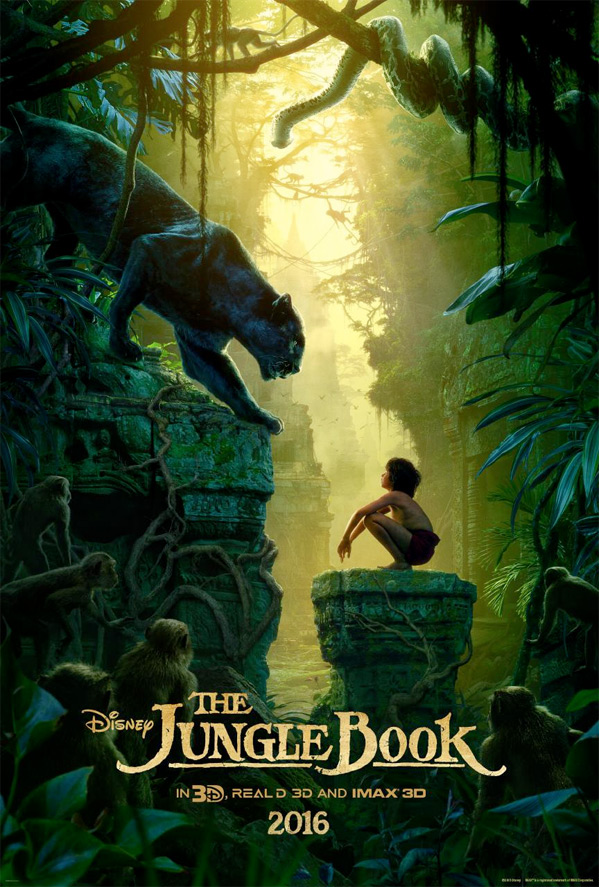 Jungle Book Teaser Poster