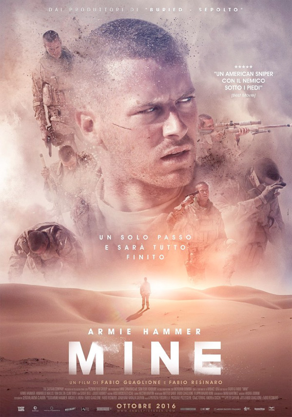 Mine Official Poster