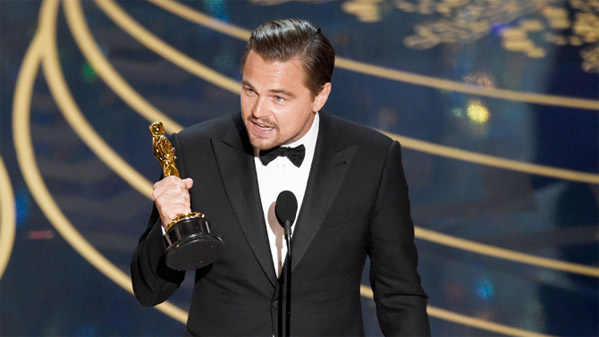 Winner: Leonardo DiCaprio - Best Actor - The Revenant