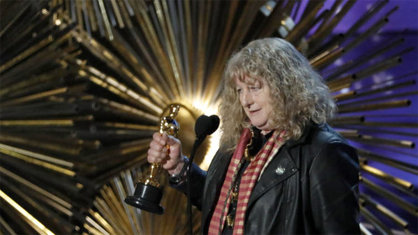 Winner: Jenny Beavan - Best Costume Design - Mad Max: Fury Road