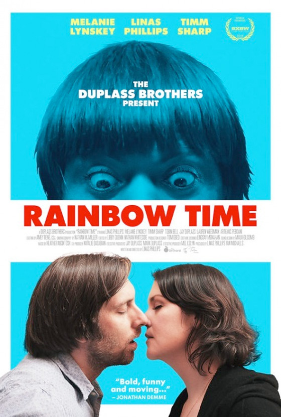 Rainbow Time Poster