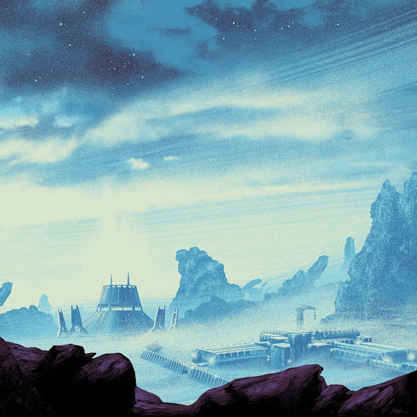 Mark Englert's Alien Day Artwork - Detail