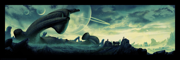 Mark Englert's Alien Day Artwork