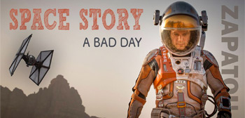 Space Story - A Bad Day