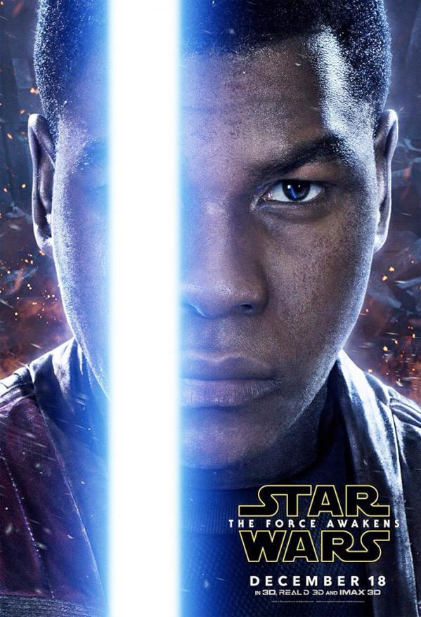 Star Wars Character Poster - Finn