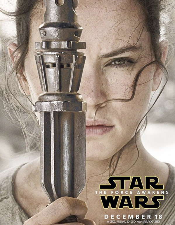Star Wars Character Poster - Rey