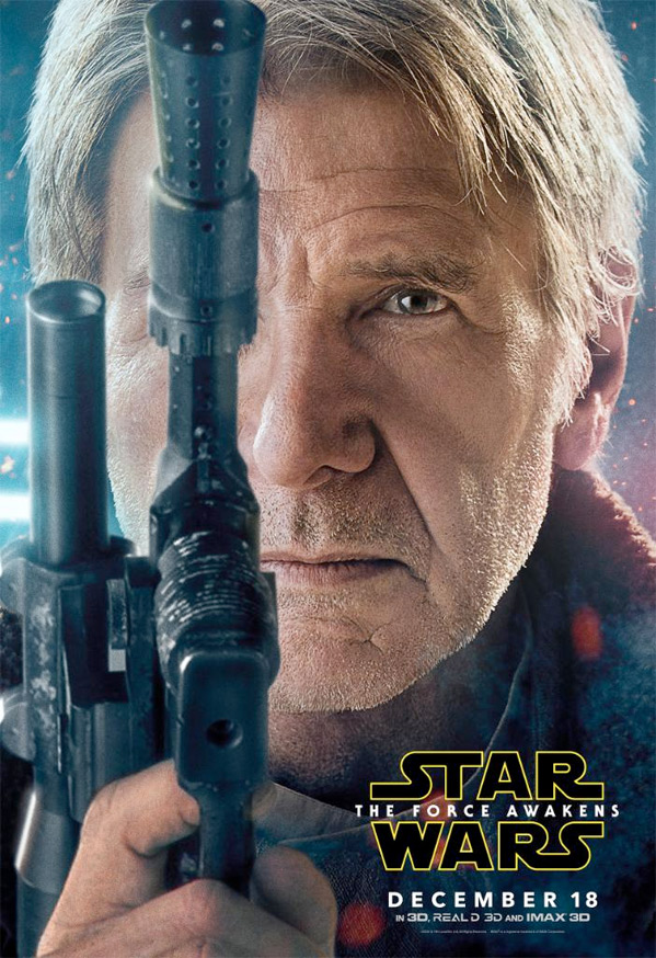 Star Wars Character Poster - Han Solo