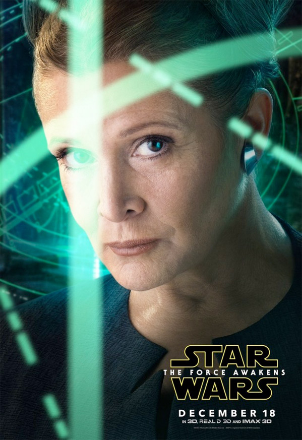 Star Wars Character Poster - Leia