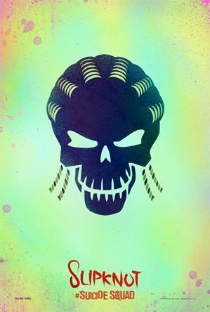 Suicide Squad Poster - Slipknot
