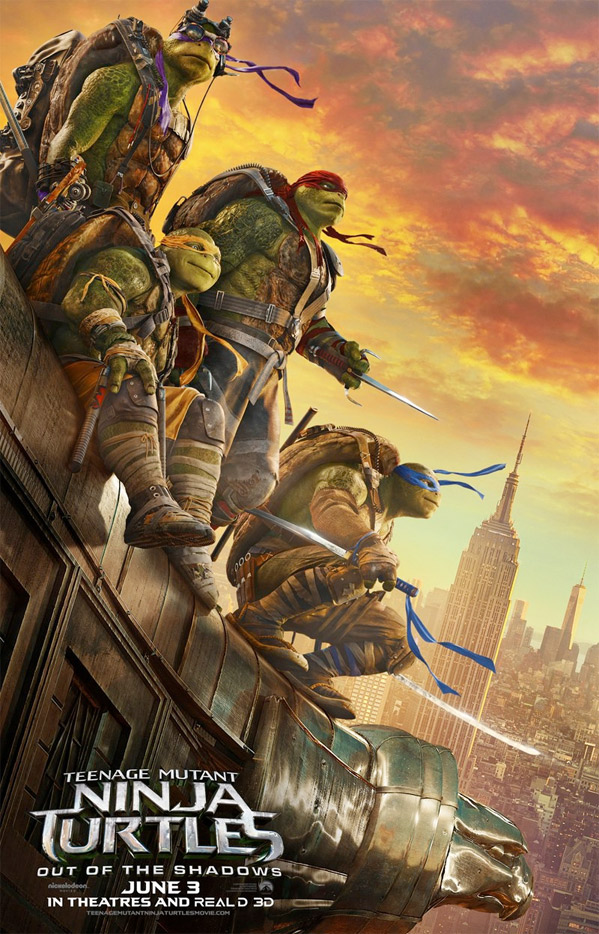 Teenage Mutant Ninja Turtles 2: Out of the Shadow