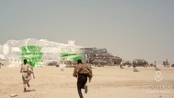 Star Wars: The Force Awakens VFX Breakdown