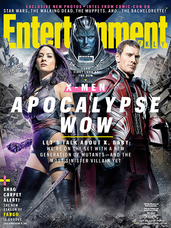 X-Men: Apocalypse - First Look Photos