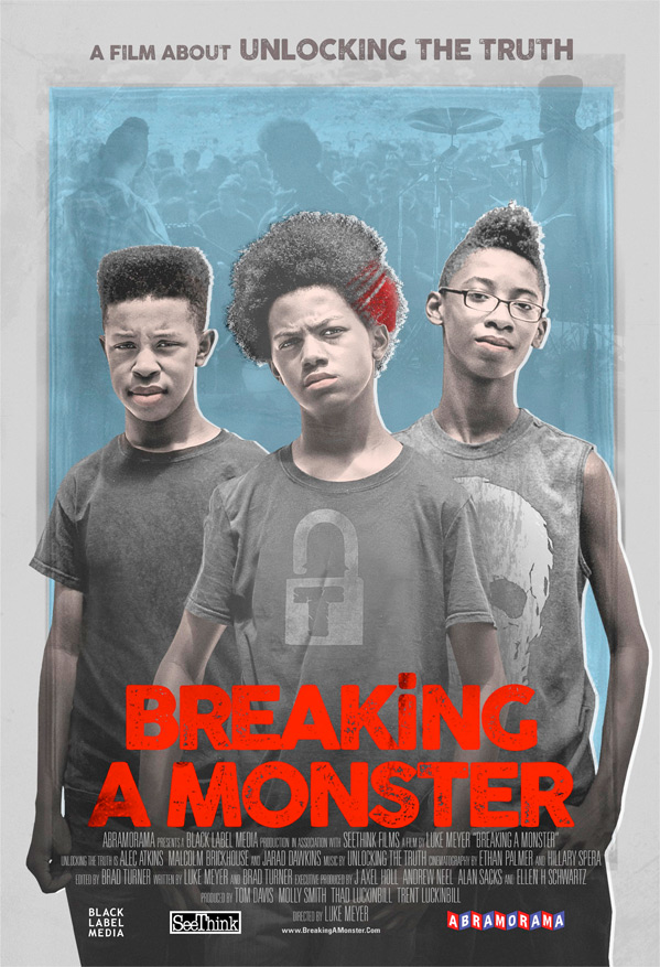 Breaking A Monster Poster
