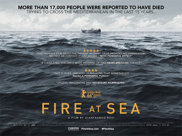 Fire at Sea Doc Poster