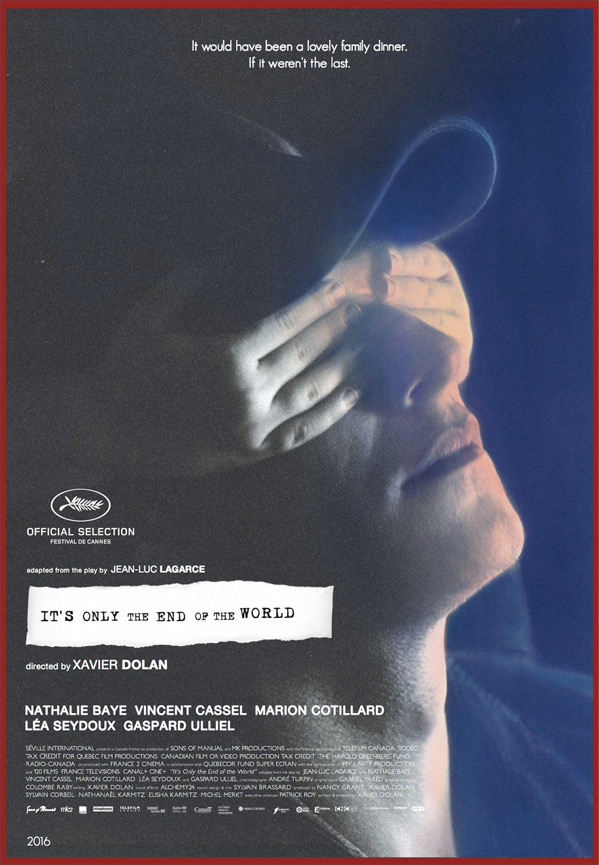 It's Only the End of the World Poster