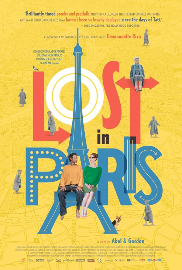 Lost in Paris Poster