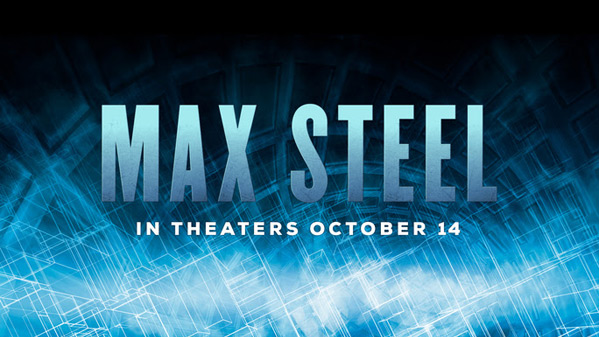 Max Steel Banner