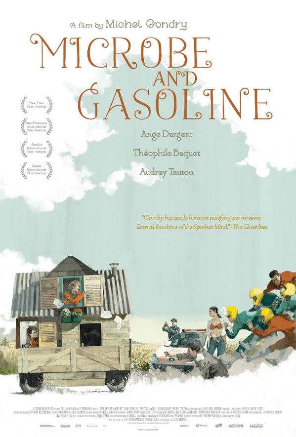 Microbe & Gasoline Poster