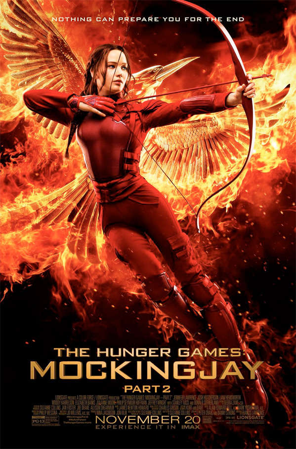 The Hunger Games: Mockingjay - Part 2 Final Poster
