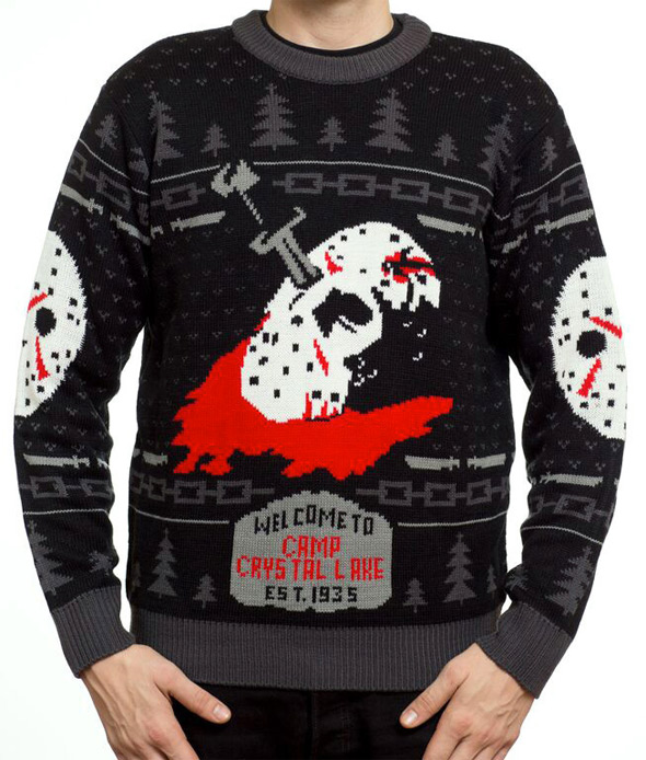 Horror Sweaters - Friday the 13th Knit Sweater