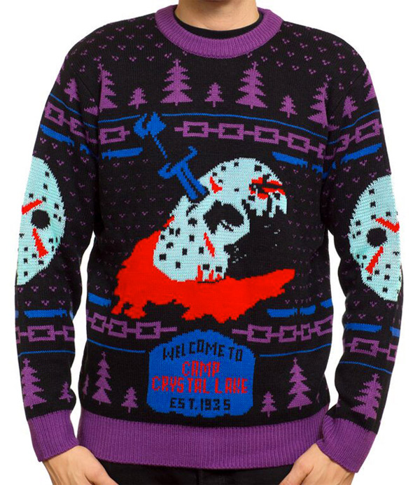 Horror Sweaters - Friday the 13th Glow in the Dark Sweater