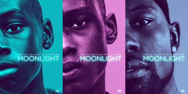 Moonlight Poster Triptych