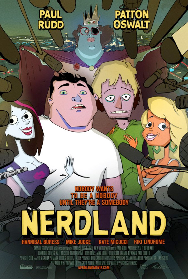 Nerdland Poster Art