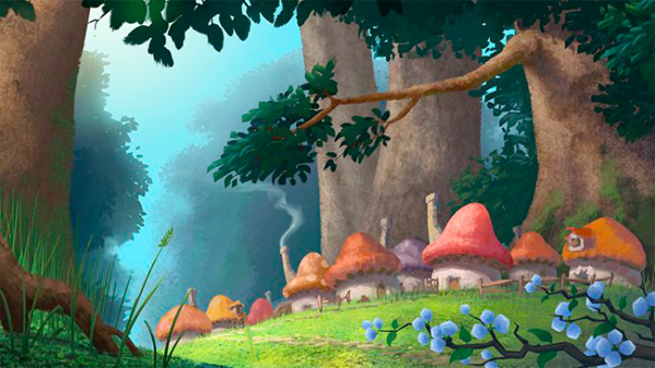 The Smurfs - Concept Art