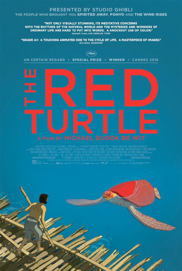 The Red Turtle Poster