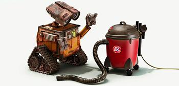 Wall-E Meets a Vacuum