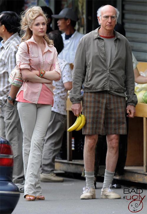 Evan Rachel Wood and Larry David in Woody Allen's Next