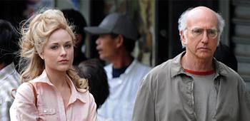First Look: Evan Rachel Wood and Larry David in Woody Allen's Next